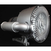 Atlantic Blowers Regenerative Blower AB-1102, 3 Phase, 2 Stage, 16.9 HP