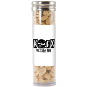 Large Gourmet Plastic Candy Tube with Peanuts
