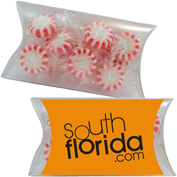 Lg. Pillow Pack - Fill Options: Mints, Foil Candy, Jolly Ranchers, Tootsie Rolls or Bubble Gum