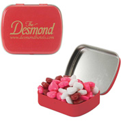 Small Mint Tin with Candy Hearts