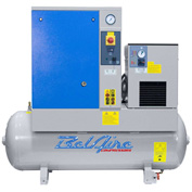 Belaire 4152011804 Rotary Screw Compressor with Dryer, 5HP, 60 Gallon