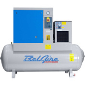 Belaire BR15253D Rotary Screw Compressor with Dryer, 15HP, 120 Gallon, 125 psi