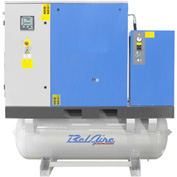 Belaire BR25253D Tank Mount Rotary Screw Compressor With Dryer, 25HP, 120 Gallon