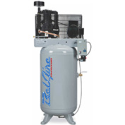 Belaire 8090250035 ELITE Two Stage Vertical Air Compressor, 7.5HP, 80 Gallon