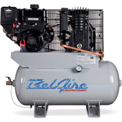 Belaire 8090250052 Briggs Vanguard Gasoline Driven Horizontal Air Compressor, 9HP, 30 Gallon