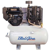 Belaire 8090250053 Subaru/Robin Gasoline Driven Horizontal Air Compressor, 9HP, 30 Gallon