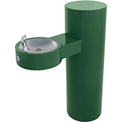 Murdock GRJ85-FRU1 Barrier Free Freeze Resistant Pedestal Mounted Outdoor Drinking Fountain - Round