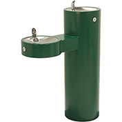 Murdock GRM45-FRU2 Barrier Free Freeze Resistant Bi-Level Pedestal Mounted Outdoor Drink Fountain