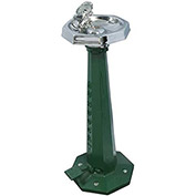 Acorn M-30-BD3 Murdock Retro Barrier Free Freeze Resistant Foot Pedal Outdoor Drinking Fountain