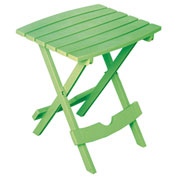 Adams® Quik Fold Side Table, Summer Green