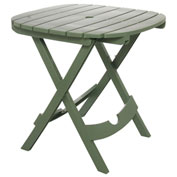 Adams® Quik Fold Cafe Table, Sage