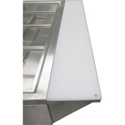 Adcraft EST-240/PCB - Cutting Board & Stainless Steel Shelf, For EST-240
