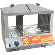 Adcraft HDS-1200W - Hot Dog Steamer & Warmer, Holds 100 Hot Dogs, 36-48 Buns, 120V