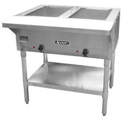 Adcraft ST-120/2 - Steam Table, 2 Bay, Electric, 120V