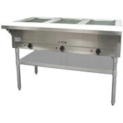 Adcraft ST-120/3 - Steam Table, 3 Bay, Electric, 120V
