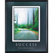 "Success Poster, 78004, Framed, 24"" x 30"""