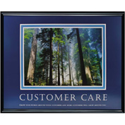 "Customer Care, Framed, 30"" x 24"""