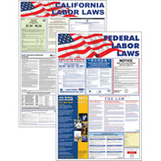 "California and Federal Labor Law Poster Combo - 24"" x 36"""