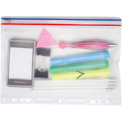 "Angler's® Pocket, Ring Binder, Zip-All, Clear, 8 ½"" x 11"" - Pkg Qty 24"