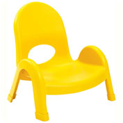 "Angeles Value Stack 5"" Chair Canary Yellow"