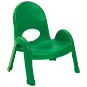 """Angeles Value Stack 7"""" Chair Shamrock Green"""