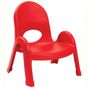 """Angeles Value Stack 7"""" Chair Candy Apple"""