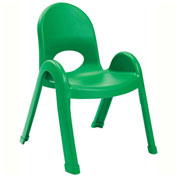"""Angeles Value Stack 11"""" Chair Shamrock Green"""