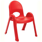 """Angeles Value Stack 11"""" Chair Candy Apple"""