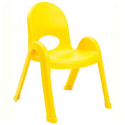 "Angeles Value Stack 11"" Chair Canary Yellow"