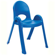 "Angeles Value Stack 13"" Chair Royal Blue"