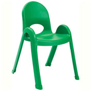 "Angeles Value Stack 13"" Chair Shamrock Green"