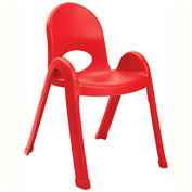 "Angeles Value Stack 13"" Chair Candy Apple"