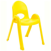 "Angeles Value Stack 13"" Chair Canary Yellow"