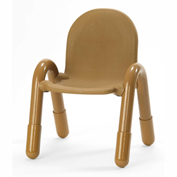 "Angeles Baseline 13"" Stackable Chair Carmel Brown"
