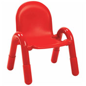 """Angeles Baseline 9"""" Chair Candy Apple Red"""