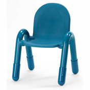 "Angeles Baseline 13"" Stackable Chair Ocean Blue"