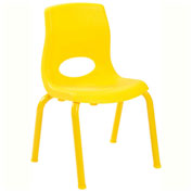"Angeles My Posture 10"" Chair Canary Yellow"