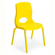 """Angeles My Posture 12"""" Chair Canary Yellow"""