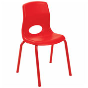 """Angeles My Posture 14"""" Chair Candy Apple"""