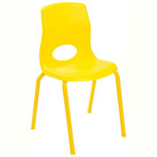 """Angeles My Posture 14"""" Chair Canary Yellow"""