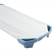 Angeles Standard White Spaceline Cot Sheet
