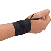 Allegro 7211-03 Rist-Rap w/ Thumb Wrist Support, Black