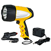 Alert Stamping LSR3S, 3W LED Rechargeable Spotlight - Pkg Qty 4