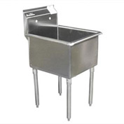 Deluxe SS Non-NSF One Bowl Sink - 30 x 24