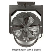"Americraft 18"" TEFC Alum Propeller Fan W/ 1 Way Swivel Yoke 18DA-1/41Y-1-TEFC-1/4 HP 3050 CFM"