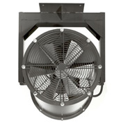 "Americraft 24"" EXP Alum Propeller Fan W/ 1 Way Swivel Yoke 24DA-11Y-1-EXP-1 HP 7400 CFM"