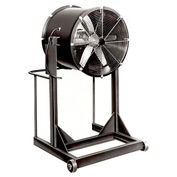 "Americraft 24"" Steel Propeller Fan With High Stand 24DS-1H-3-TEFC 1 HP 7350 CFM"