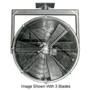 "Americraft 36"" TEFC Alum Propeller Fan W/ 2 Way Swivel Yoke 36DAL-32Y-3-TEFC-3 HP 20500 CFM"