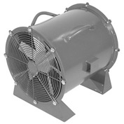 "Americraft 48"" TEFC Aluminum Propeller Fan With Low Stand 48DALL-10L-3-TEFC 10 HP 39000 CFM"