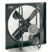 "24"" Commercial Duty Exhaust Fan - 1 Phase 1/3 HP"